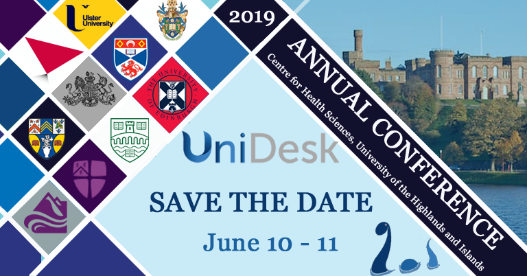 UniDesk conference 2019 save the date